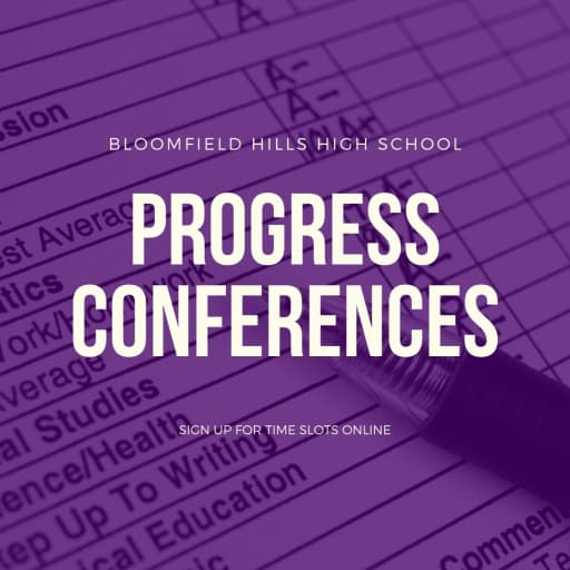 BHHS Student Progress Conferences