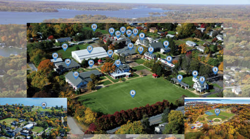 Campus Map | Key School in Annapolis, MD