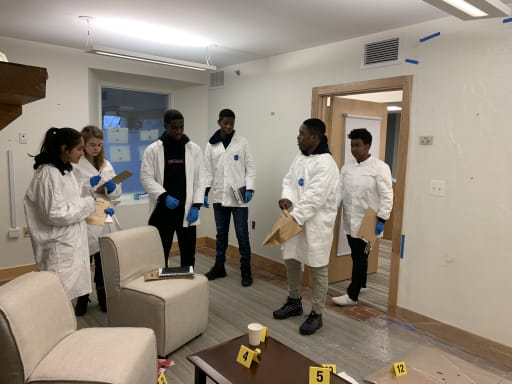 It S Not Csi A New Class Explores How Forensic Science Works In The Real World News Detail Sidwell Friends