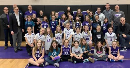 Chca S Girls Basketball Program Raises Awareness And 6 000 For Ovarian Cancer Research In Their Annual Teal Power Event News Details Cincinnati Hills Christian Academy