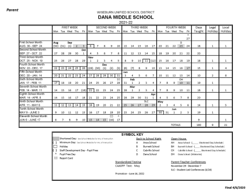 WUSD 2021 22 Calendars   Wiseburn Unified School District