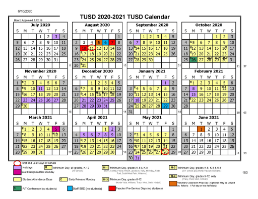 Tusd Christmas Break 2020 District Calendar   Tracy Unified School District