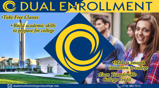 Cypress College Summer 2021 Calendar Dual Enrollment with Cypress College   Los Alamitos High School