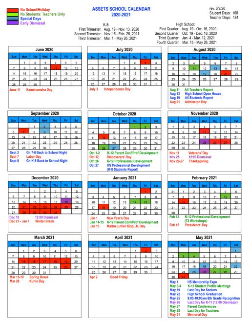 Uh Manoa Fall 2022 Calendar.School Calendar Assets School