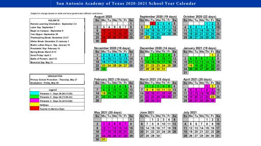 Northwest Vista Calendar 2021 Pictures
