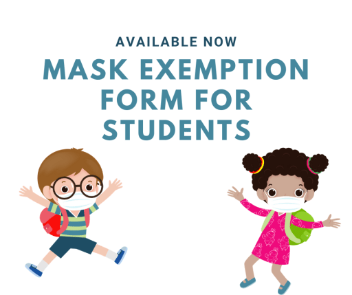 Mask exemption form