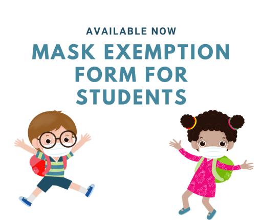Mask exemption form