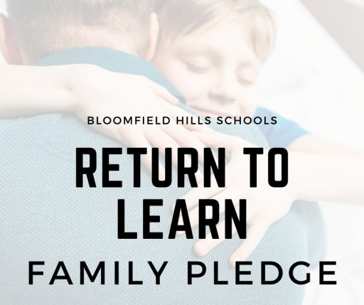 Return to Learn Family Pledge