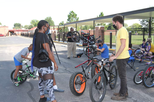Families Participate In Bike Tune Up Day At Monroe News Story