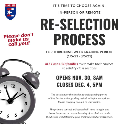 Re-Selection Process