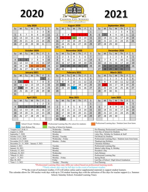 Columbus City Schools Calendar 2022 2023.2020 2021 System Calendar