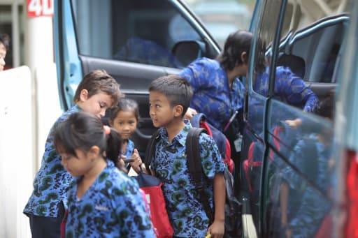 Bus Service Transport British School Jakarta