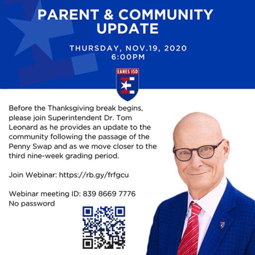 Parent & Community Update