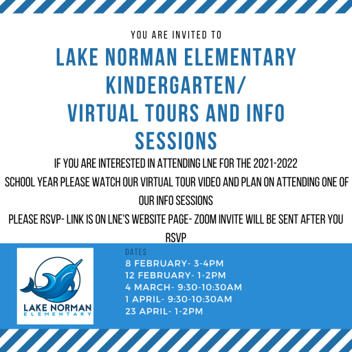LNE Kindergarten Virtual Tours and Info Sessions