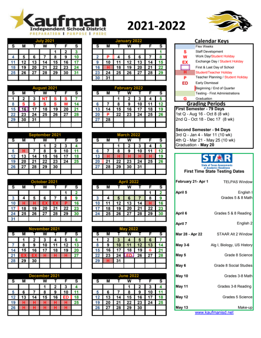 Wylie Isd Calendar 2022.District Calendar