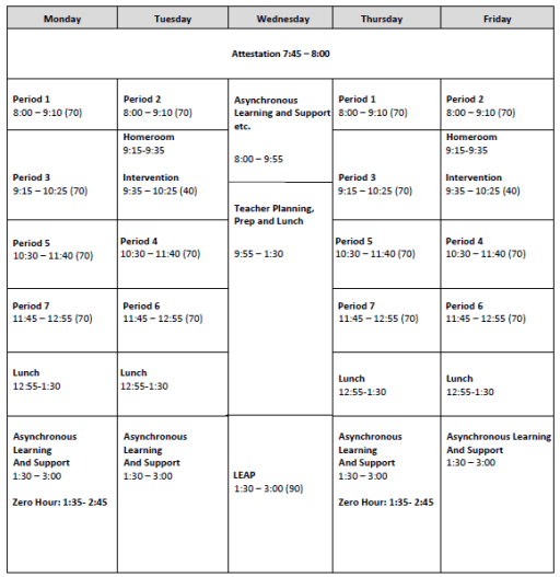 Lwsd Calendar 2022.Bell Schedule Lake Washington High School