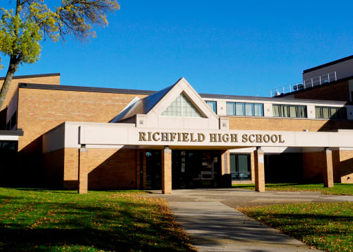 Richfield High School Entrance