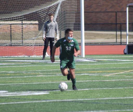 Joseph Mazzarella plays soccer