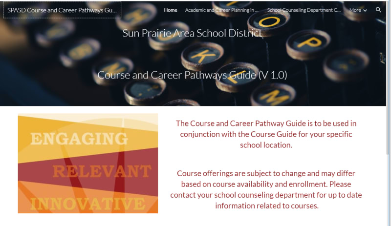 Course Guide And Scheduling Sun Prairie Area School District
