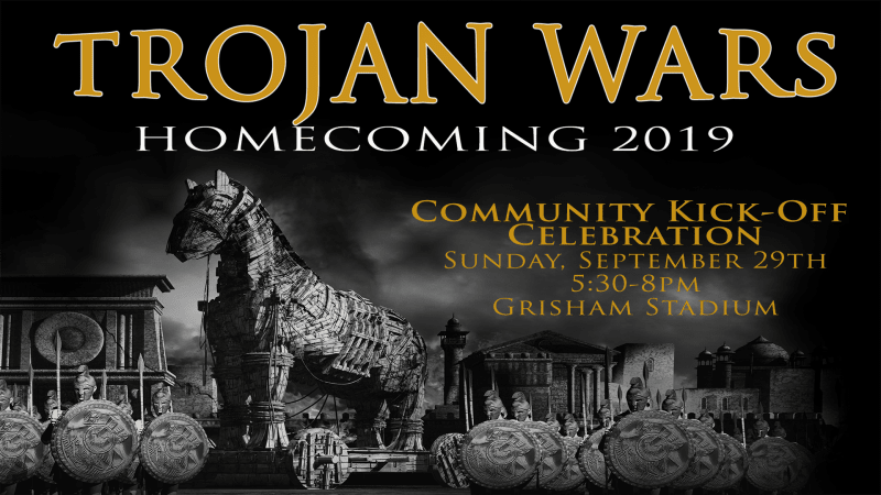 Homecoming Kick Off Save the Date