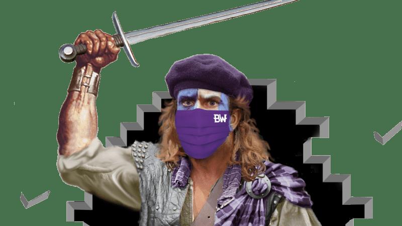 Highlander-with-mask