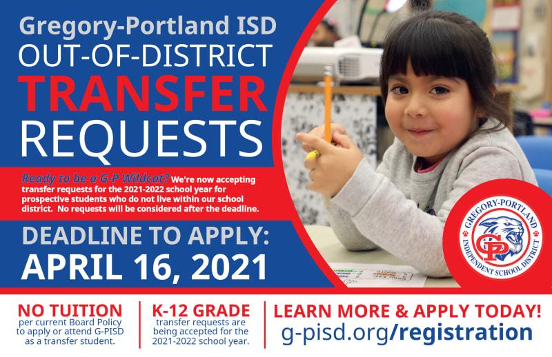 Pisd Calendar 2022 2023.Student Registration Transfer Requests Gregory Portland Independent School District