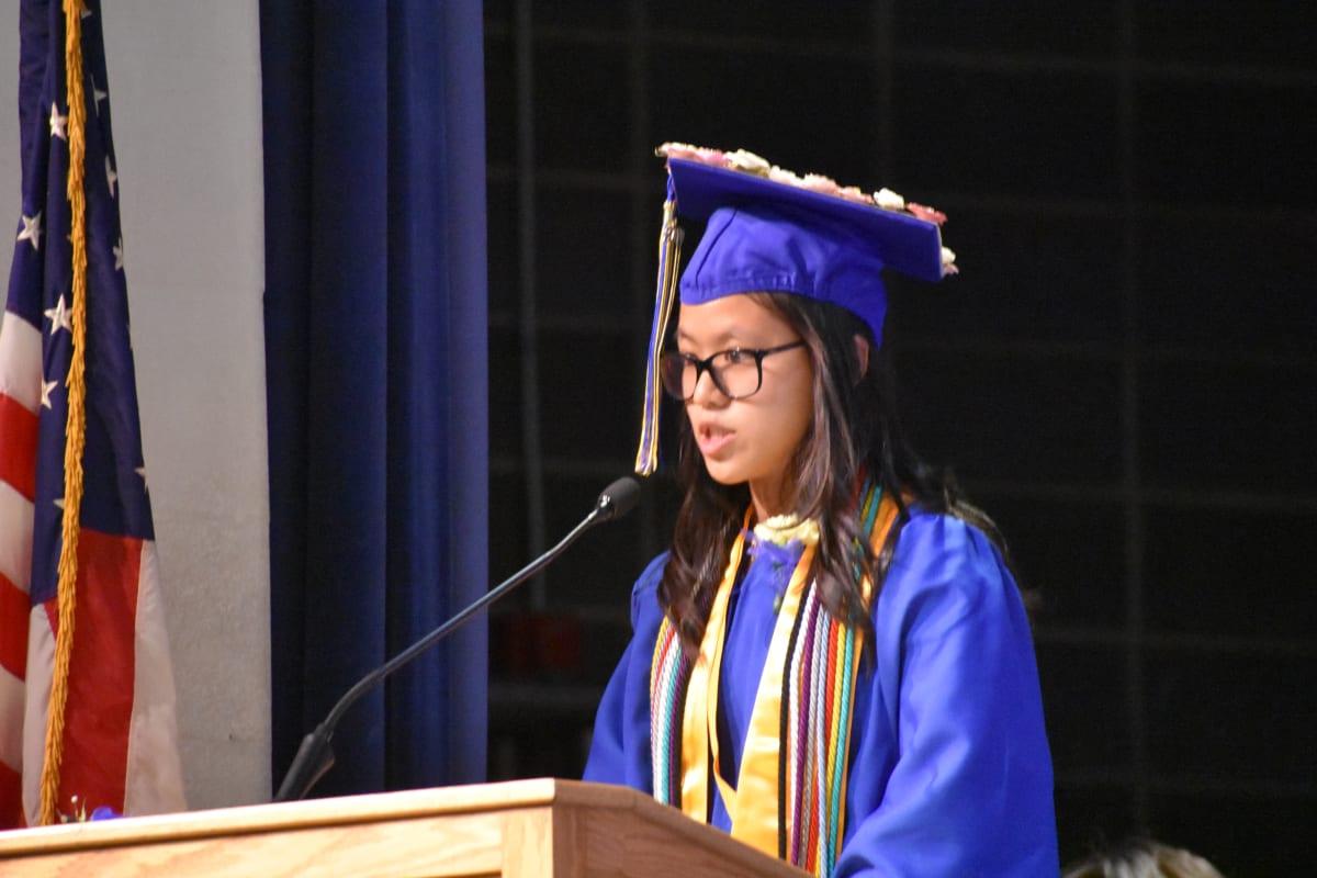 Gilbert School graduation 2019