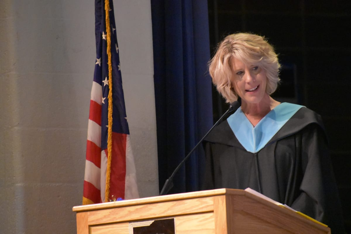 2019 Gilbert School graduation ceremony