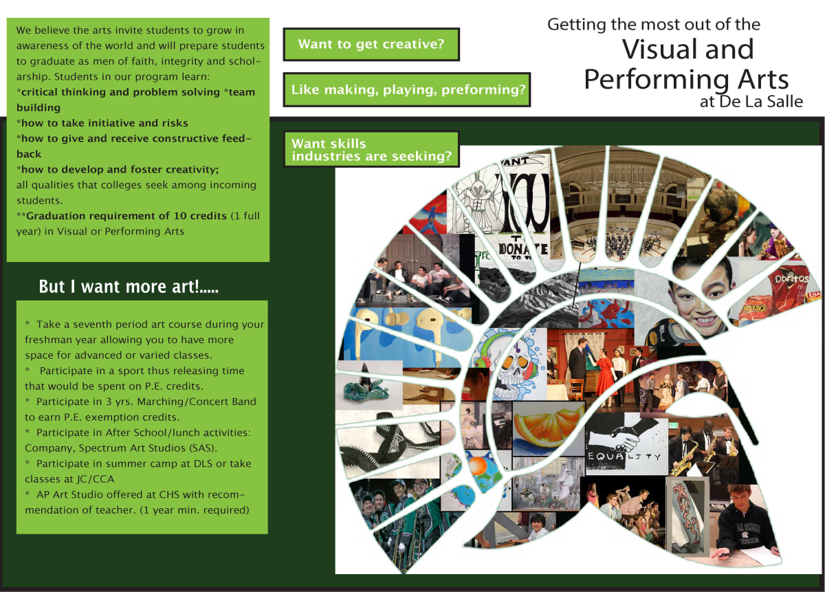 Visual and Performing Art Brochure - Page 1