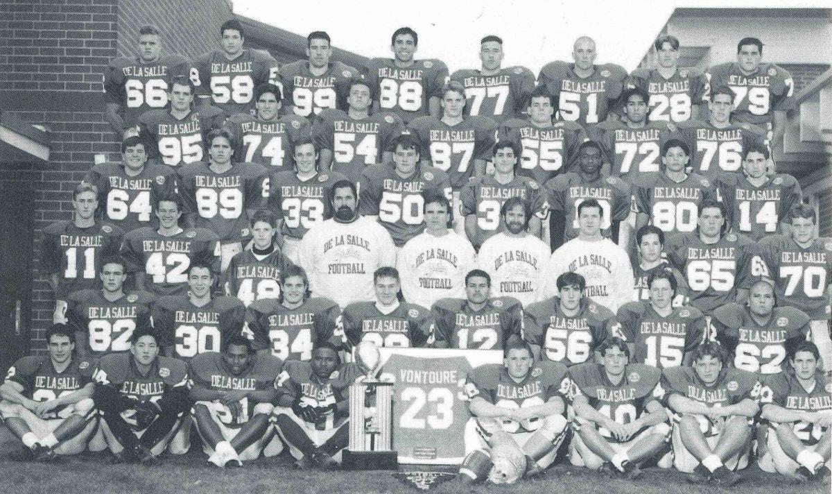 1993 Football Team Photo