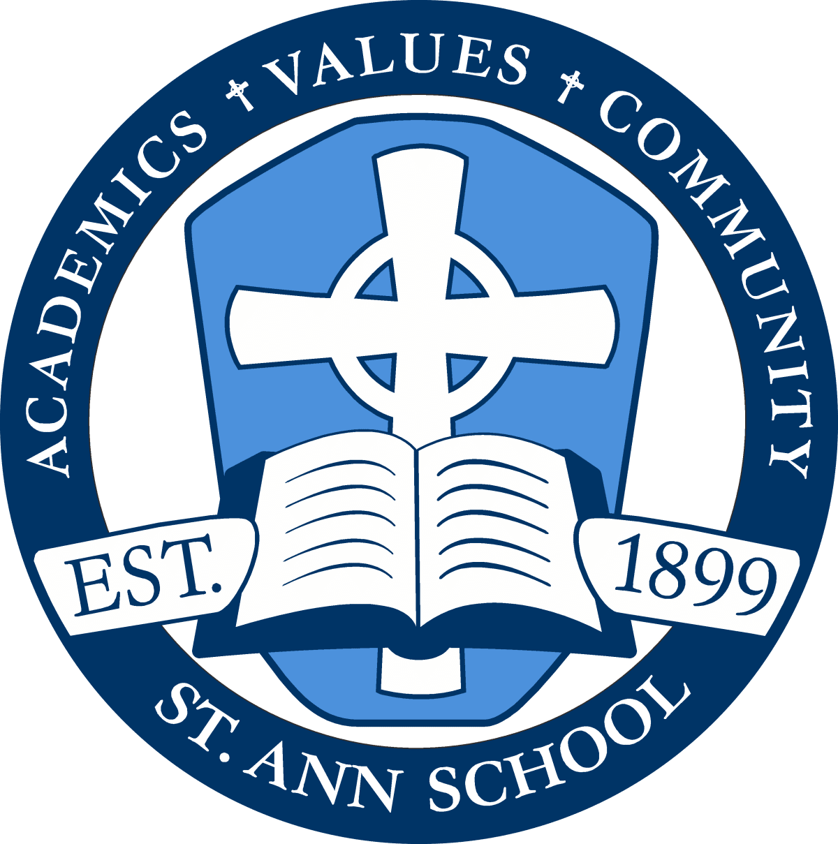 St. Ann School - Logo