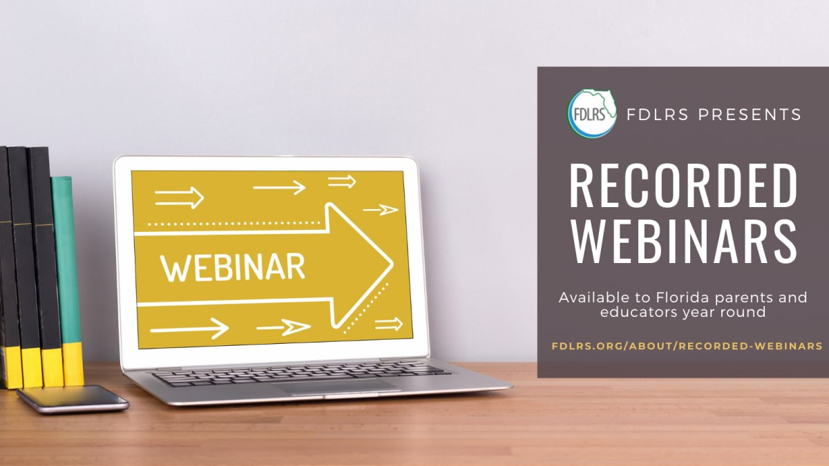 Free Recorded Webinars for Educators and Parents