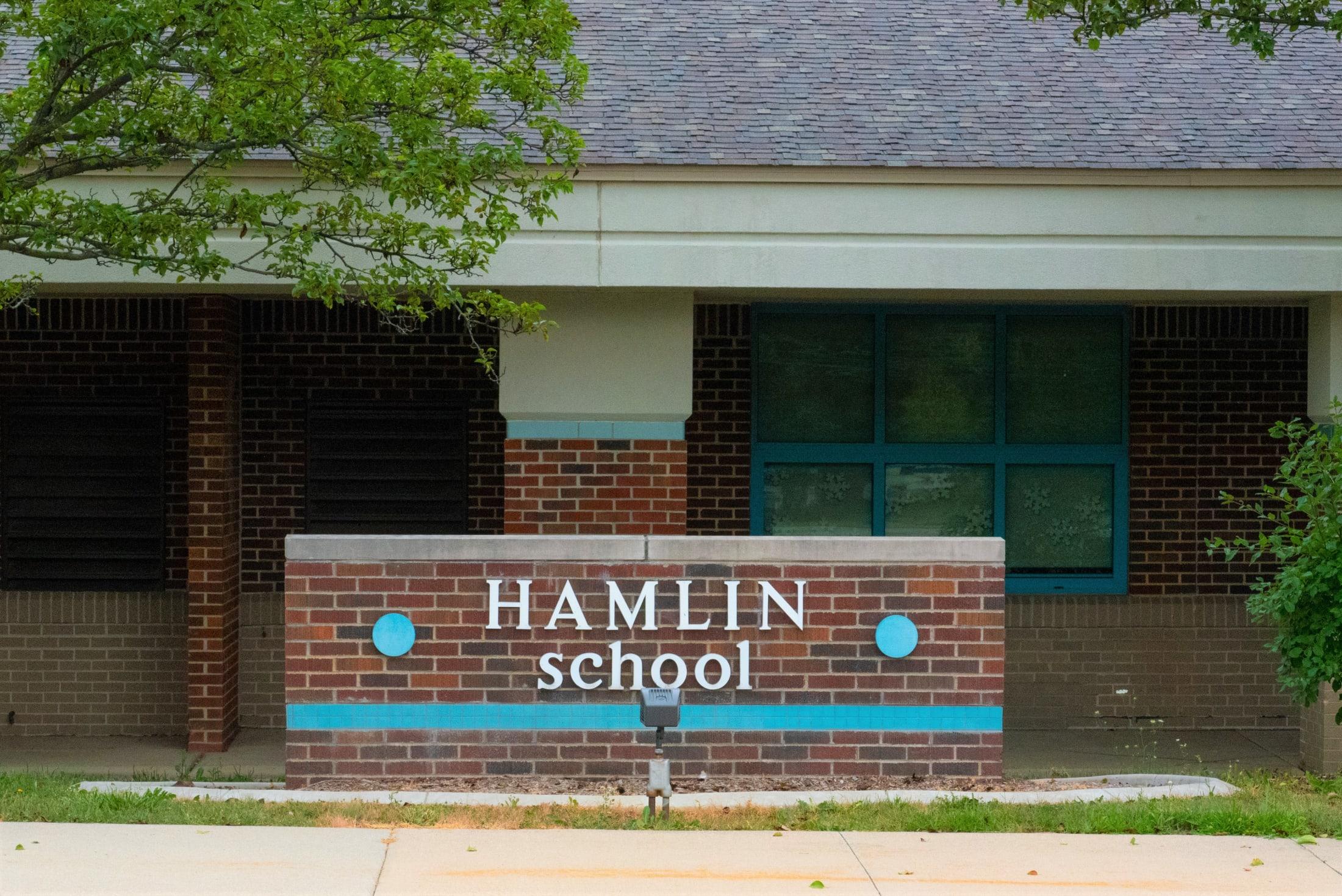 Hamlin Elementary Front Entrance