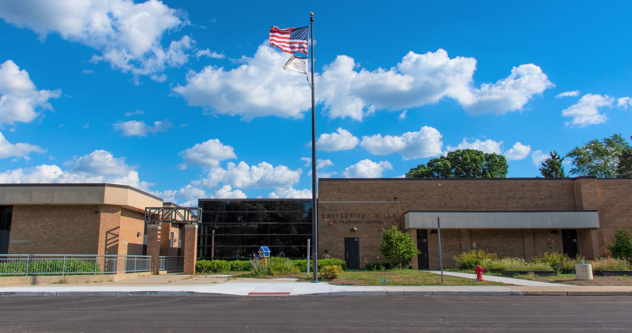 University Hills Elementary Front Entrance