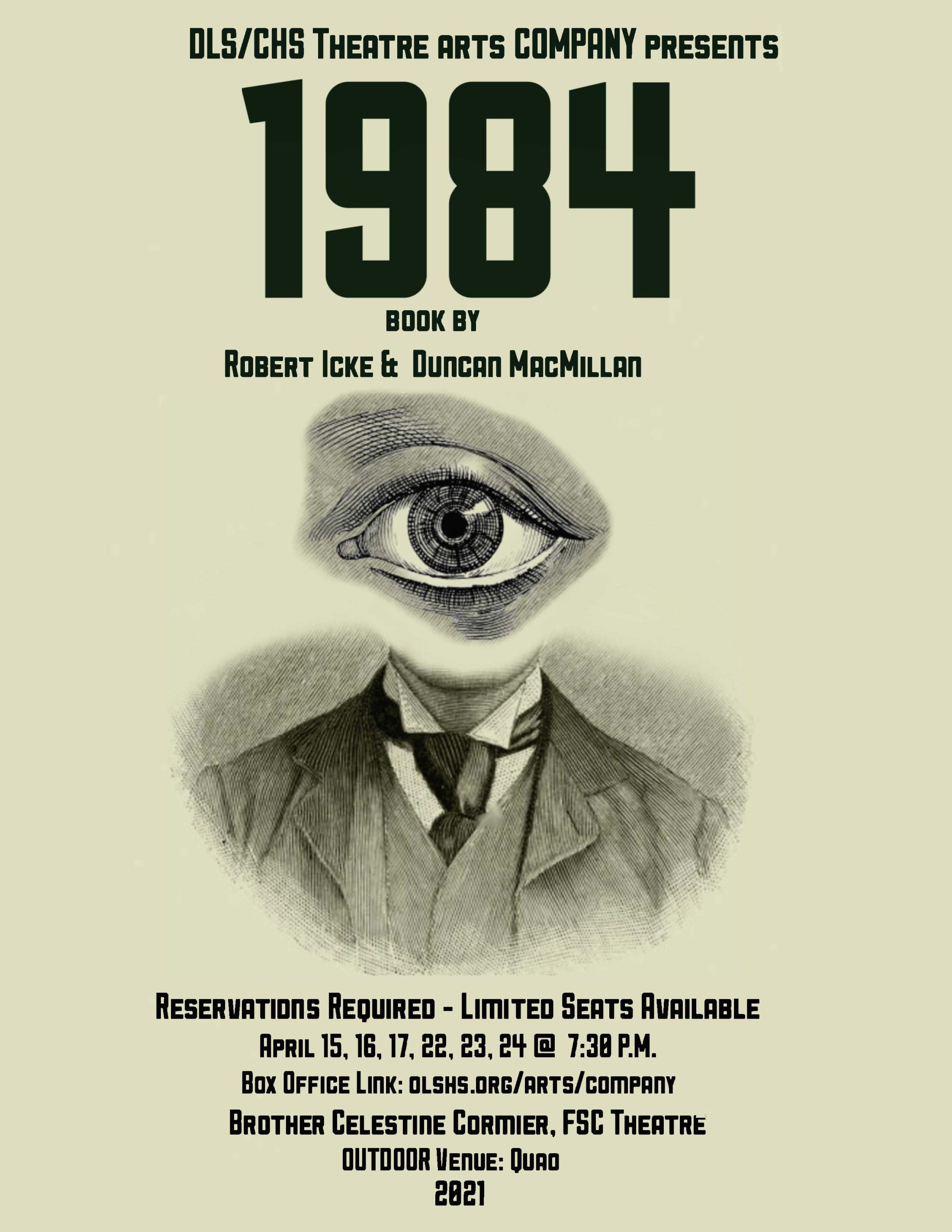 1984 Show Poster