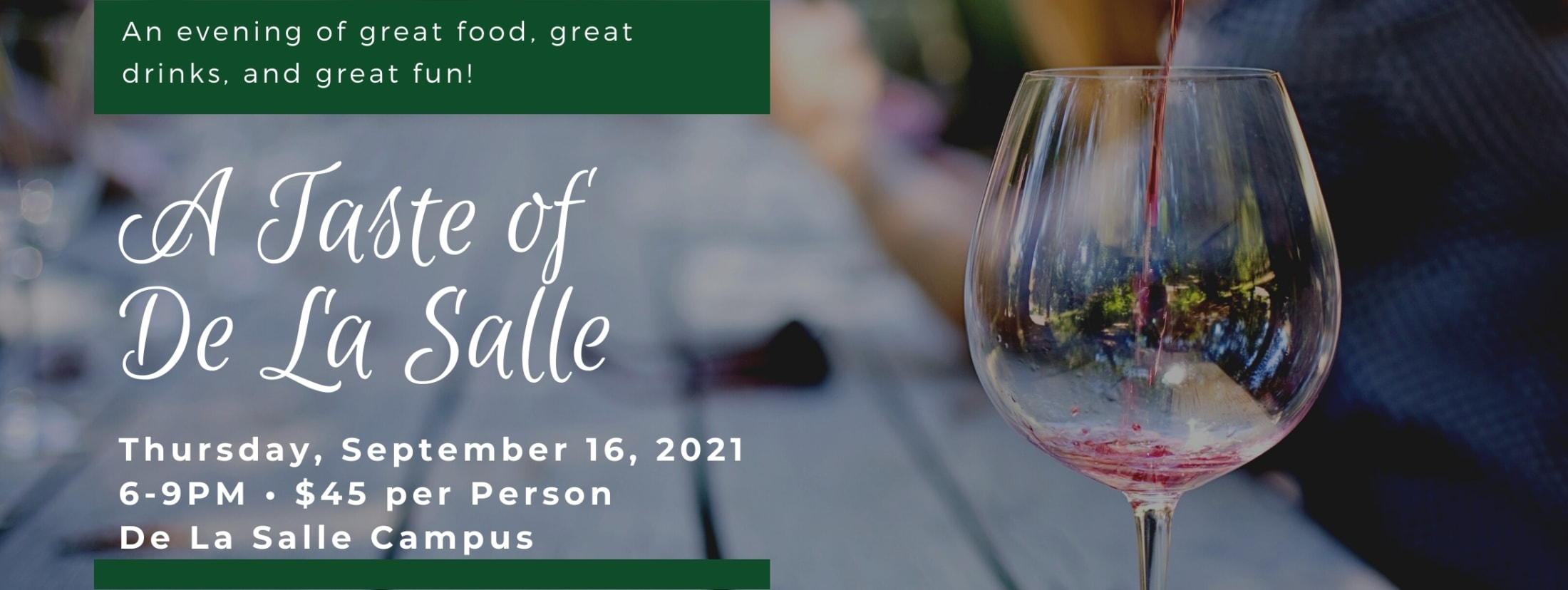 2021 A Taste of De La Salle Image