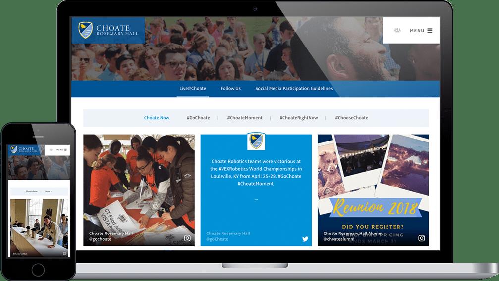 Finalsite Feeds Social Media Marketing For Schools Finalsite