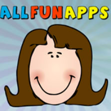 Logo and link to the All Fun Apps website