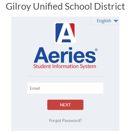 Aeries Student Information System - Gilroy Unified School