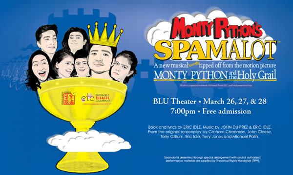 WAB Presents Monty Python's Spamalot, March 26-28   News Articles