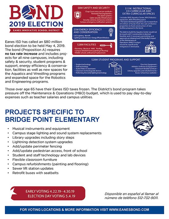 BPE Bond Projects