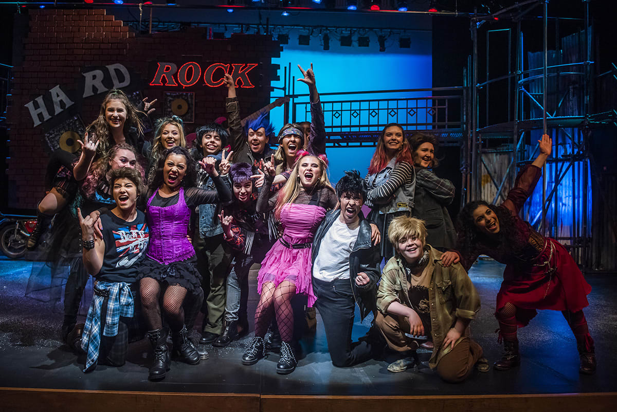 Cast of We Will Rock You