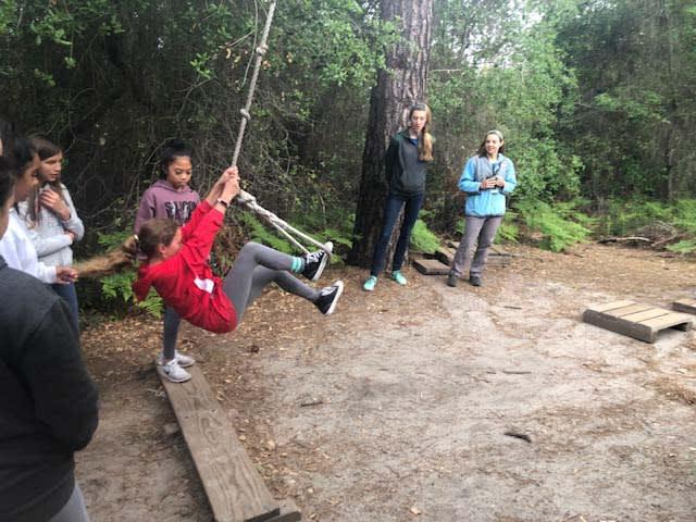 kids having fun at Mt Hermon