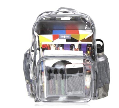Clear Backpack Guidelines American Heritage School