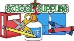 Miscellaneous school supplies