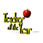 Teacher of the Year and apple