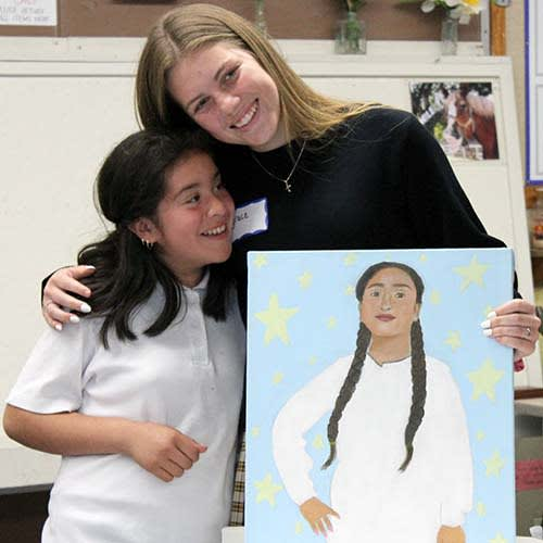 Student, girl, and portrait