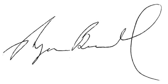 Ryan Buckley's Signature