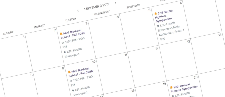 Lsu Academic Calendar 2022 2023.Calendar For Lsu Health Shreveport
