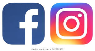 Image of Facebook and Instagram logos side-by-side